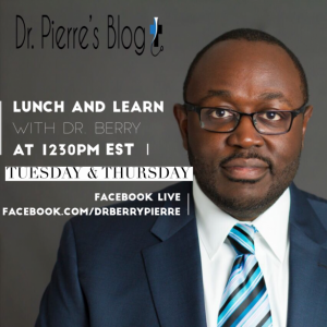 Lunch and Learn, Dr. berry, DrpierresBlog.com,videos,symptoms of depression